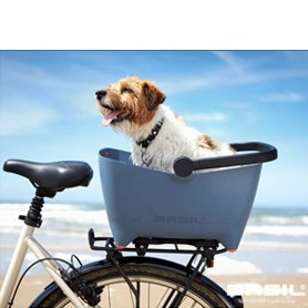 Dog bike basket