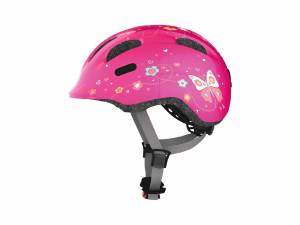 Abus kids helmet Smiley M pink butterfly