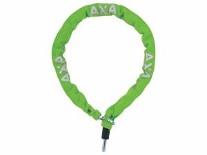 AXA Bike lock plug-in chain RLC 100/5,5 green