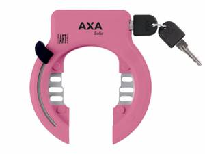 AXA Bike frame lock Solid XL pink