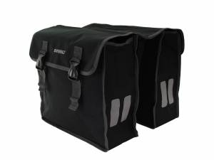 Basil double bike bag Mara XL black