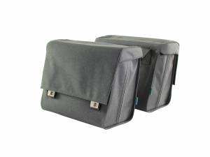 Around double rear bicycle bag Comfort, anthracite