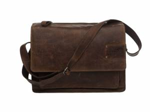 New Looxs laptop bike shoulderbag Barolo, brown