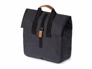 Basil Urban Dry shopper bike bag charcoal