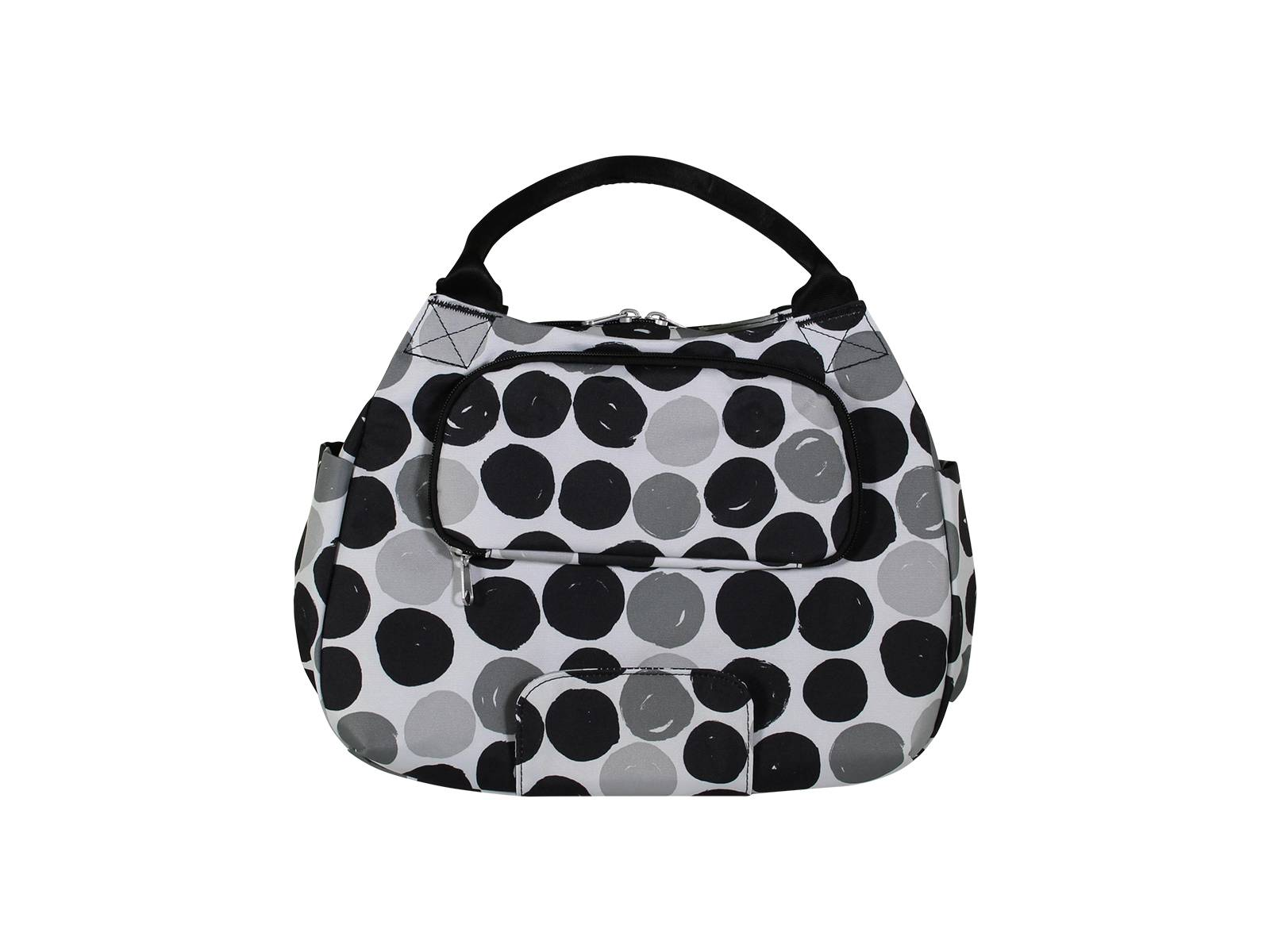 f9c1bac4490 New Looxs bike bag Tosca Midi Dots black | Bicyclecomfort