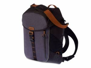 Basil backpack bike bag Miles black