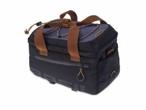 Basil luggage carrier bag Miles, black