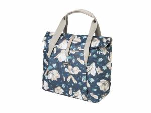 Basil Magnolia Shopper teal blue