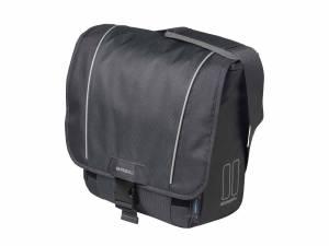 Basil shoulder bicycle bag Sport Design graphite