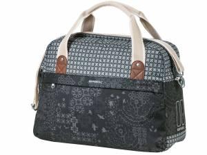 Basil shoulder bike bag Boheme charcoal