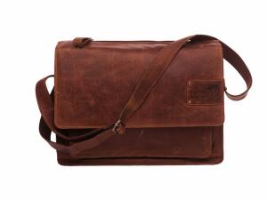 New Looxs laptop bike shoulderbag Barolo, cognac