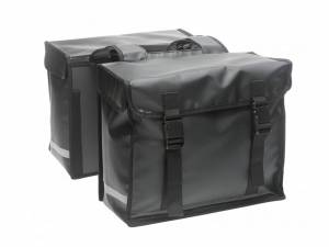 New Looxs double bike bag Bisonyl matt black