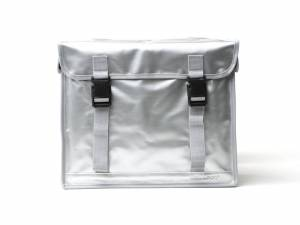 New Looxs double bike bag Bisonyl silver