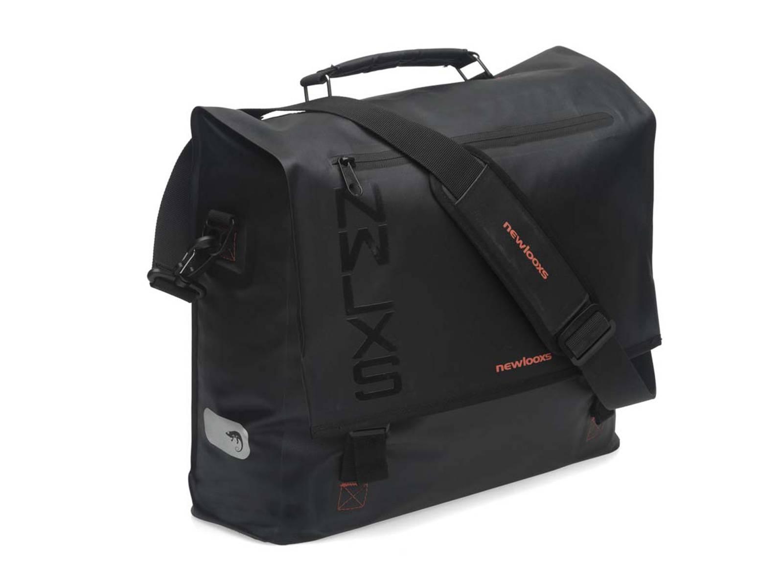 545a4ce29a1 New Looxs shoulder bike bag Varo waterproof black | Bicyclecomfort