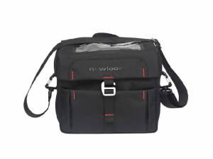 New Looxs Handlebar bag Vigo incl. holder, black