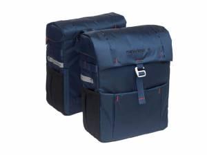 New Looxs double bike bag Vigo Racktime blue