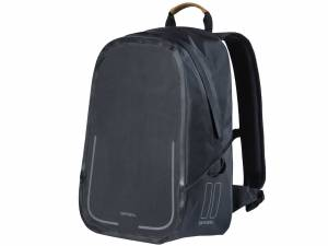 Basil backpack bike bag Urban Dry, matt black