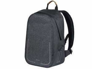 Basil backpack bike bag Urban Dry, charcoal melee