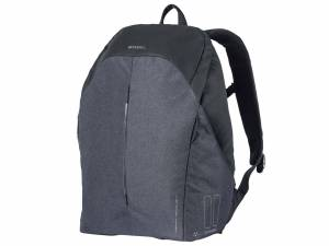 Basil bicycle bag B-safe Backpack Nordlicht, graphite black