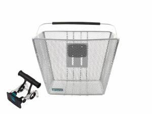 AROUND basket ACE incl. handlebar holder, chrome