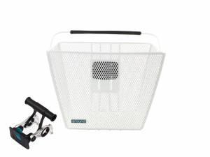 AROUND basket ACE incl. handlebar holder, white