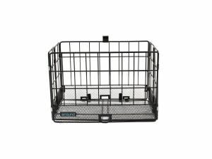AROUND foldable rear bicycle basket, black