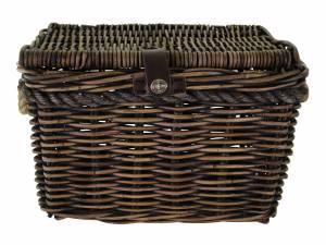 New Looxs rattan bike basket Melbourne L, brown