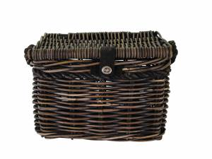 New Looxs rattan bike basket Melbourne M, brown