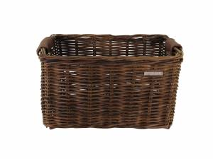 Basil rattan bike basket Dorset M brown