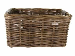 Basil rattan bike basket Dorset L brown