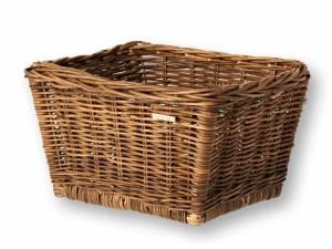 Basil rattan bike basket Dalton M brown
