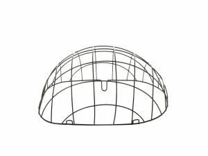 Basil space frame for Pasja nr. 2 pet basket