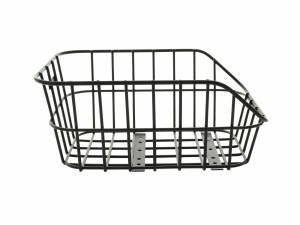 Basil rear basket Cento Alu black
