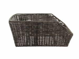 Basil rear bike basket Cento Rattan-look brown