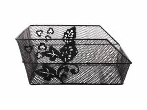 Basil rear basket Cento flower black