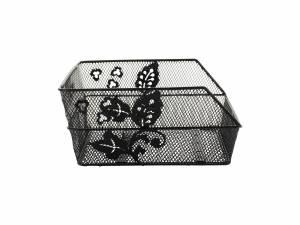 Basil rear basket Cento flower S black