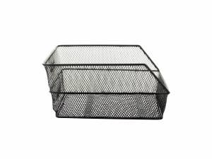 Basil rear basket Cento S black