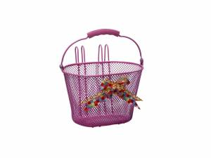 New Looxs children's basket Asti pink
