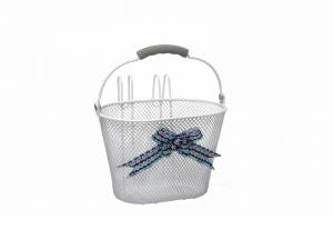 New Looxs children's basket Asti white
