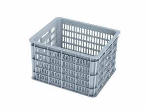 Basil bicycle crate silver cloud M
