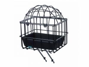 Front Carrier Luna, Transport/animal basket with removable dome, Adjustable 16'-28'