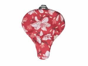 Basil Saddle cover Magnolia red