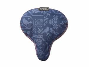 Basil Saddle cover Boheme indigo