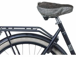 Basil Saddle cover Boheme charcoal