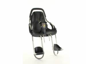Qibbel Front bicycle child seat Basic element black