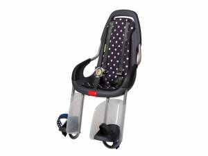 Qibbel To Go rear child seat Polka Dots black
