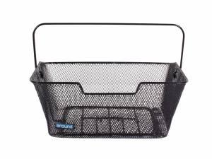 AROUND rear bicycle basket Fine Basic, black