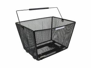 AROUND rear bike basket Fine XL High Comfort Removable, black