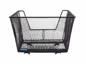 AROUND rear bike basket Fine XL High Basic, black
