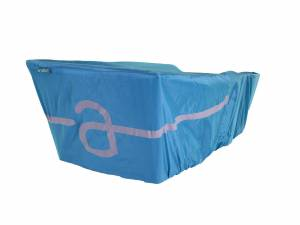 AROUND raincover for College rear bike basket